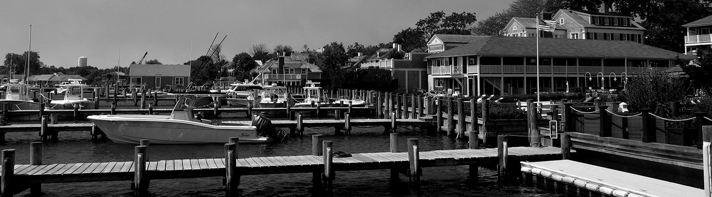 Edgartown Black & White