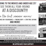 See summer movies at a discount!