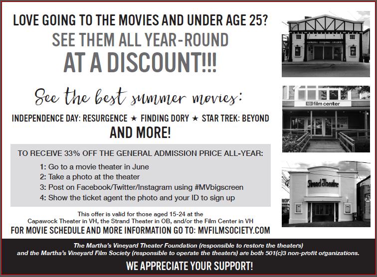 MV Film Society Discount