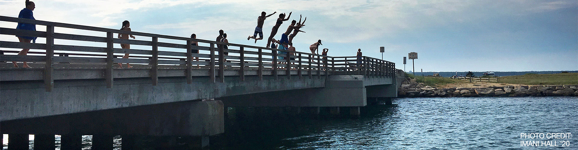 Jump from the bridge