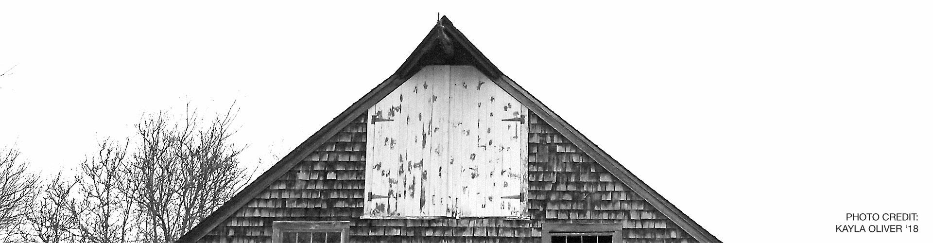 B&W Barn Roof