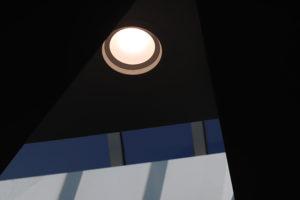 Overhead light fixture